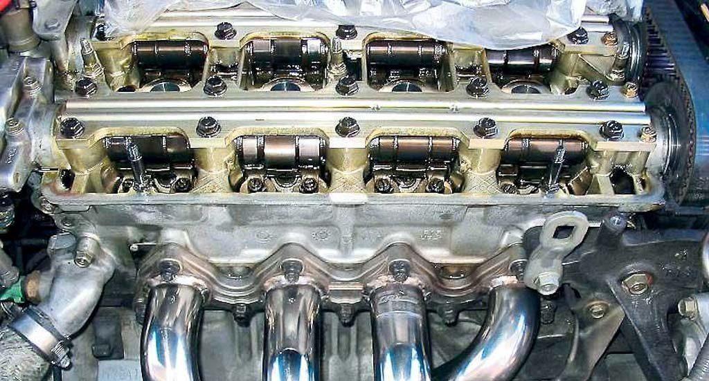Чистый двигатель. Раскоксовка не нужна.