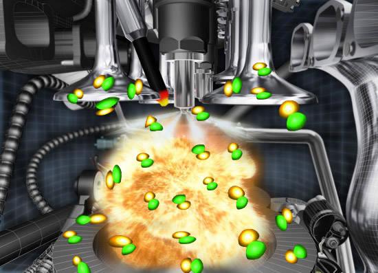 Раскоксовка камеры сгорания